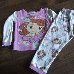Disney Princess Sofia the First pajama set